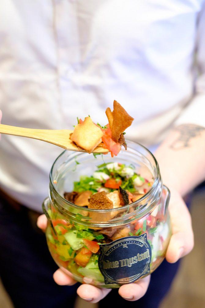 Blue Mustard Food Truck-Shaking Salad