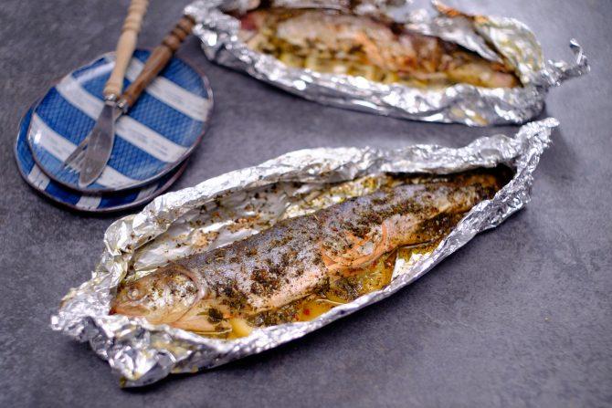 Grill-Fisch